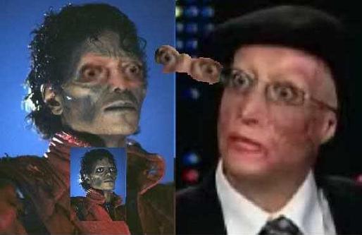 Ne me demandez pas, mais apparement ce montage prouve que Michael Jackson est vivant