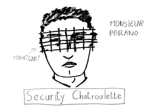 Chatroulette monsieur anonyme