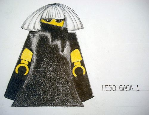 lego gaga
