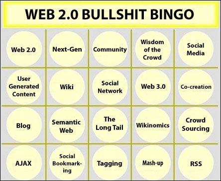 web  2.0 bullshit bingo