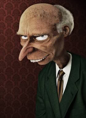 mr burns simpsons real life untooned
