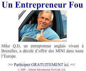 un entrepreneur fou