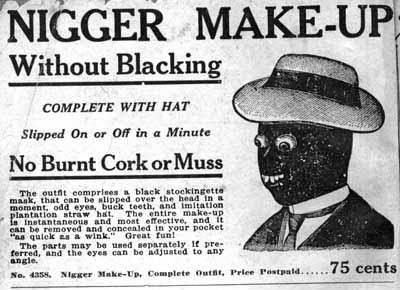 nigger make up