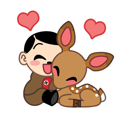 Baby_Deer_Loves_Hitler_by_humon