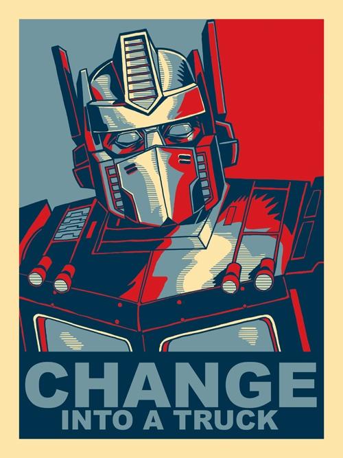 obama optimus prime
