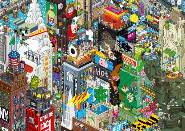 ville Pixel par ebay