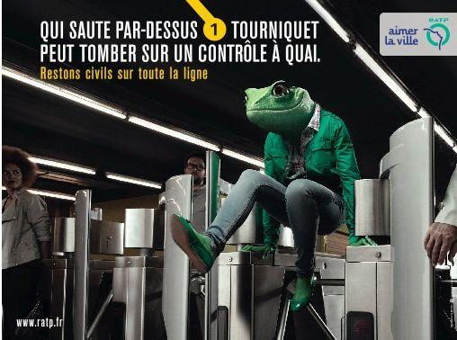 RATP grenouille