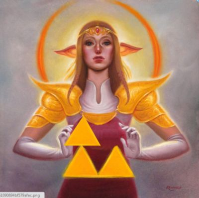 Zelda can't triforce