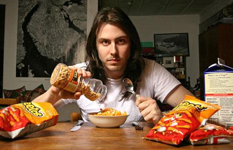 Andrew WK + Cheetos