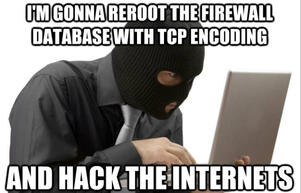 - im gonna reroot the firewall database with tcp encoding and
